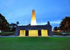 Memoriale di guerra del Park di re Fotografia Stock Libera da Diritti