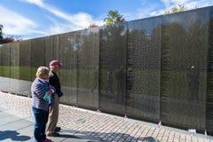 Memoriale di guerra del vietnam Immagine Stock Libera da Diritti