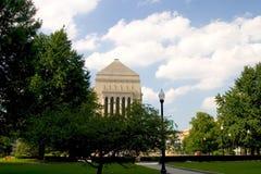 Memoriale di guerra dell'Indiana fotografia stock libera da diritti