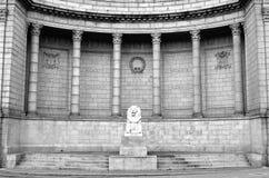 Memoriale di guerra della città di Aberdeen Immagine Stock Libera da Diritti