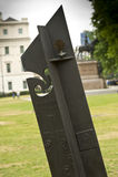 Memoriale di guerra della Nuova Zelanda Fotografia Stock