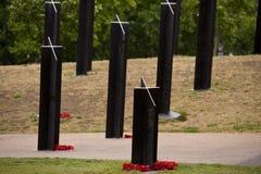 Memoriale di guerra della Nuova Zelanda Fotografia Stock Libera da Diritti