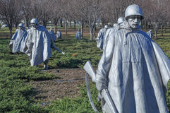 Memoriale di guerra di Corea Fotografie Stock Libere da Diritti