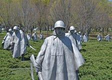 Memoriale di guerra di Corea, Washington DC Fotografia Stock Libera da Diritti