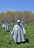 Memoriale di guerra di Corea, Washington DC Fotografia Stock