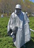 Memoriale di guerra di Corea, Washington DC Immagini Stock