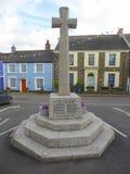 Memoriale di guerra inglese del villaggio Fotografie Stock