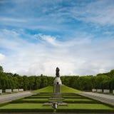 Memoriale di guerra sovietico nel parco di Treptower Fotografia Stock Libera da Diritti