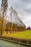 Memoriale di guerra sovietico nel parco di Treptower, panorama di Berlino, Germania Fotografia Stock Libera da Diritti