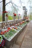 Memoriale di guerra sulle altezze di Sinyavino Fotografia Stock Libera da Diritti