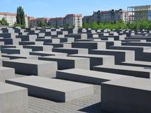 Memoriale di Holocost, Berlino Fotografia Stock Libera da Diritti