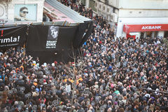 Memoriale di Hrant Dink a Costantinopoli Fotografia Stock Libera da Diritti