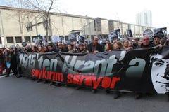 Memoriale di Hrant Dink a Costantinopoli Immagine Stock