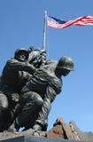 Memoriale di Iwo Jima Fotografie Stock Libere da Diritti