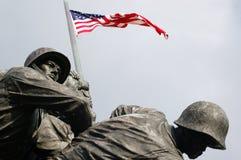 Memoriale di Iwo Jima Fotografie Stock