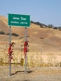 Memoriale di James Dean Fotografia Stock Libera da Diritti