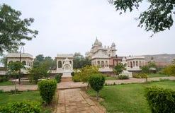 Memoriale di Jaswant Thada a Jodhpur Fotografia Stock Libera da Diritti