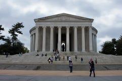 Memoriale di Jefferson Fotografia Stock