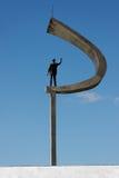 Memoriale di JK a Brasilia fotografia stock