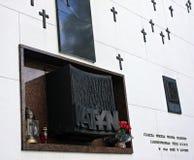 Memoriale di Katyn Fotografia Stock