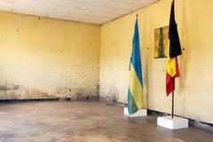 Memoriale di Kigali dell'accampamento Fotografia Stock