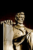 Memoriale di Lincoln Immagine Stock