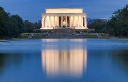 Memoriale di Lincoln Immagine Stock