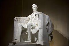 Memoriale di Lincoln Fotografia Stock
