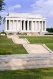 Memoriale di Lincoln, DC di Washington alla notte C Immagine Stock