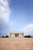 Memoriale di Lincoln, DC di Washington alla notte C Fotografia Stock