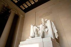 Memoriale di Lincoln, DC di Washington alla notte C Immagine Stock Libera da Diritti