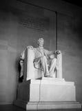 Memoriale di Lincoln della statua di Lincoln @ Fotografia Stock