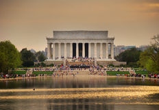 Memoriale di Lincoln, Washington DC Fotografia Stock