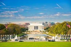 Memoriale di Lincoln in Washington DC Fotografie Stock