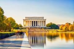 Memoriale di Lincoln in Washington DC Immagine Stock Libera da Diritti