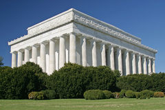Memoriale di Lincolns Immagini Stock