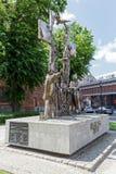Memoriale di millennio in Kolobrzeg in Polonia Fotografie Stock