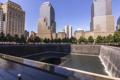 Memoriale di New York Immagini Stock Libere da Diritti