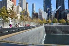 Memoriale di New York Fotografie Stock Libere da Diritti
