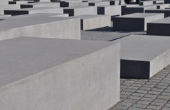 Memoriale di olocausto, Berlino Fotografie Stock