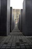 Memoriale di olocausto - Berlino Fotografia Stock