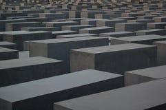 Memoriale di olocausto, Berlino Fotografia Stock