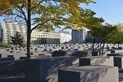 Memoriale di olocausto a Berlino Immagine Stock Libera da Diritti