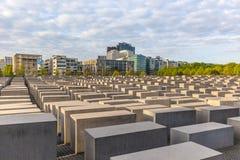 Memoriale di olocausto a Berlino Fotografia Stock Libera da Diritti