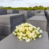 Memoriale di olocausto a Berlino Immagini Stock Libere da Diritti