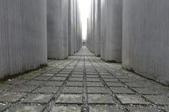 MEMORIALE di OLOCAUSTO, Berlino, Germania Immagine Stock Libera da Diritti