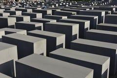 MEMORIALE di OLOCAUSTO, Berlino, Germania Immagini Stock Libere da Diritti