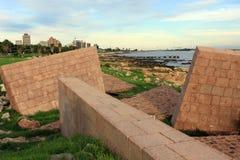 Memoriale di olocausto a Montevideo Fotografia Stock