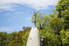 Memoriale di pace del ` s dei bambini di Hiroshima nel Giappone fotografia stock