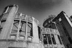 Memoriale di pace di Hiroshima - cupola di Genbaku fotografie stock